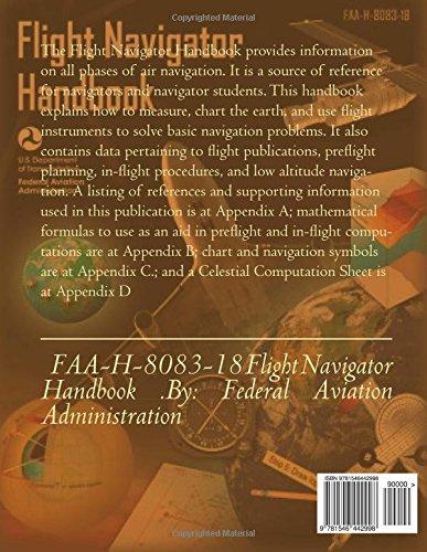 Faa h 8083 18 flight navigator handbook federal aviation faa h 8083 18 flight navigator handbook federal aviation administration federal aviation administration 9781546442998 amazon books fandeluxe Images