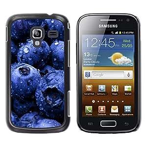 Caucho caso de Shell duro de la cubierta de accesorios de protección BY RAYDREAMMM - Samsung Galaxy Ace 2 I8160 Ace II X S7560M - Plant Nature Forrest Flower 81