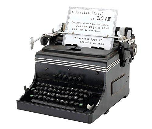 Lillian Rose Vintage Mini Replica Typewriter Wedding Decor