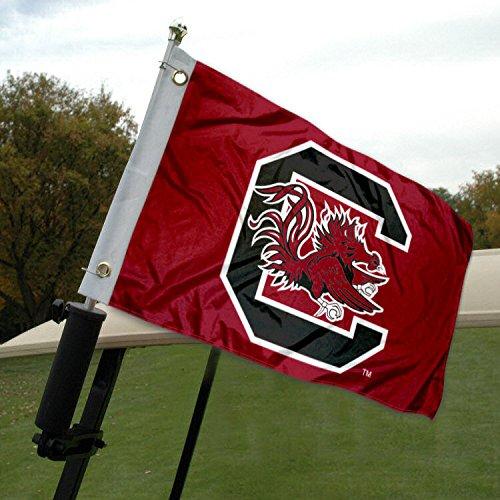 (University of South Carolina Golf Cart and Boat Flag)