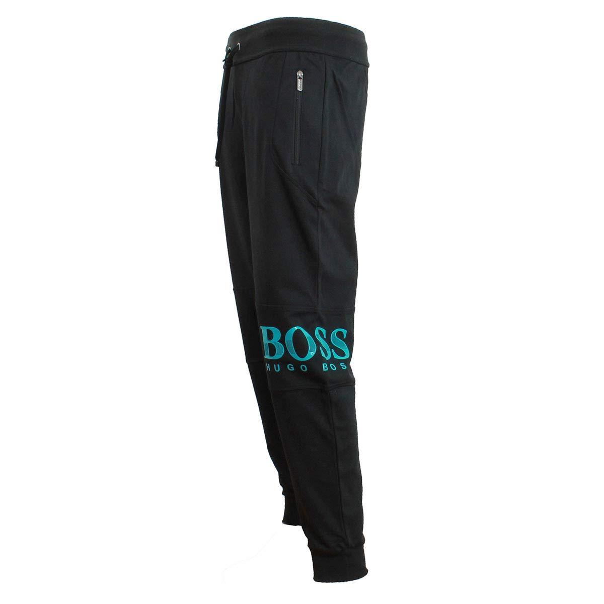 Hugo Boss 50414654 001 - Pantalones de chándal, Color Negro ...