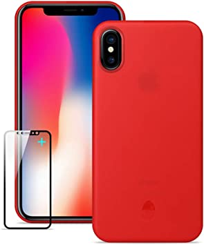 Funda iPhone X, Ultra delgada y ligera totalmente envuelta ,Funda ...