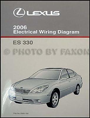 2006 lexus es 330 wiring diagram manual original lexus amazon com rh amazon com 2005 lexus es 330 owners manual 2005 lexus es330 manual