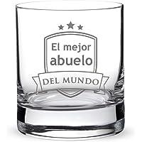 AMAVEL – Vaso de Whisky con Grabado –