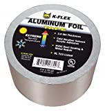 150 ft. x 4'' Aluminum Pipe Insulation Tape, -31 to 248F, Silver