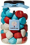 Mallow Tree Strawberry, Forest Berries, Vanilla Flavoured, Marshmallow Balls in a Gift Jar 600 g