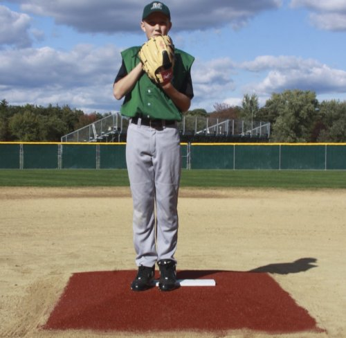 ProMounds ''Minor League Style'' Pitching Game Mound - Green Turf by ProMounds