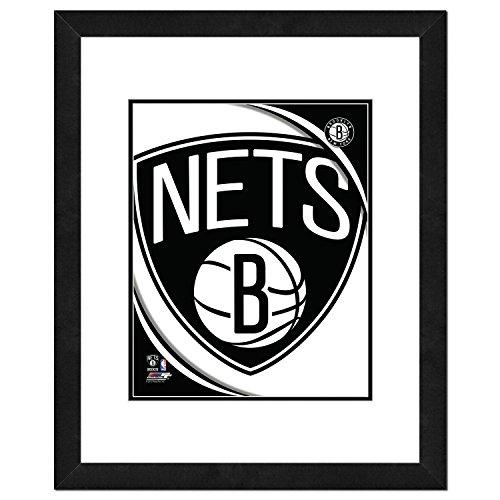2012 Team Framed Photo - NBA Brooklyn Nets 2012 Team Logo Double Matted & Framed Photo, 18