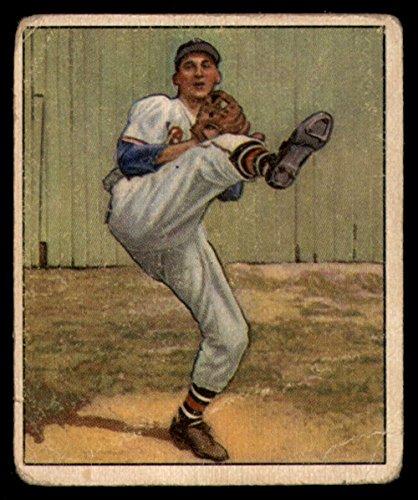 Baseball MLB 1950 Bowman #19 Warren Spahn G-VG Bos Braves