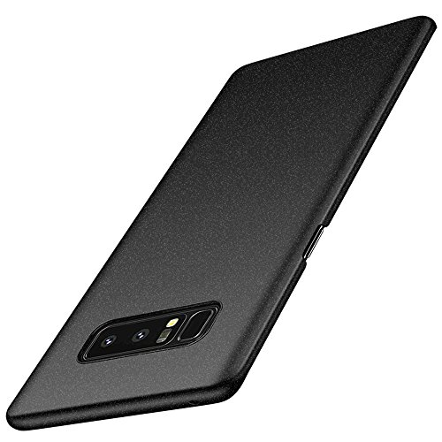 Anccer Compatible for Samsung Galaxy Note 8 Case [Colorful Series] [Ultra-Thin] [Anti-Drop] Premium Material Slim Full Protection Cover for Samsung Galaxy Note8 2017 (Gravel Black)