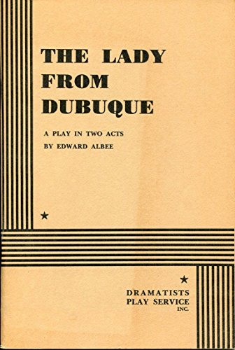 Edward Albee The Lady From Dubuque Rare Signed Autograph Play Book (From Dubuque Lady)