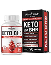 Exogenous Ketones BHB Keto Pills: Patented goBHB Beta-Hydroxybutyrate Trace Minerals to Maintain Ketosis, Improve Mental Focus, Supports Endurance, goBHB Keto Salts, 90 Keto Pills