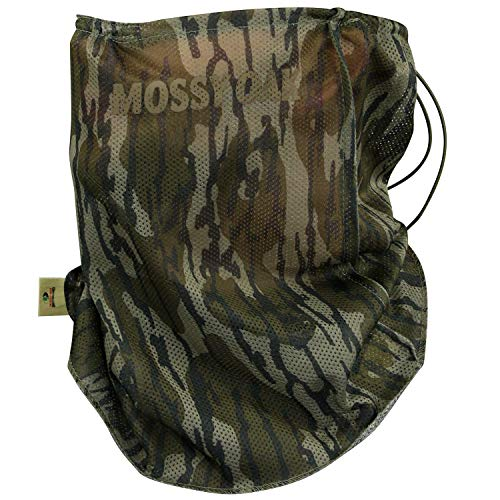Net 3/4 Face Mask - Mossy Oak Camo Mesh Hunting Mask, Original Bottomland, One Size