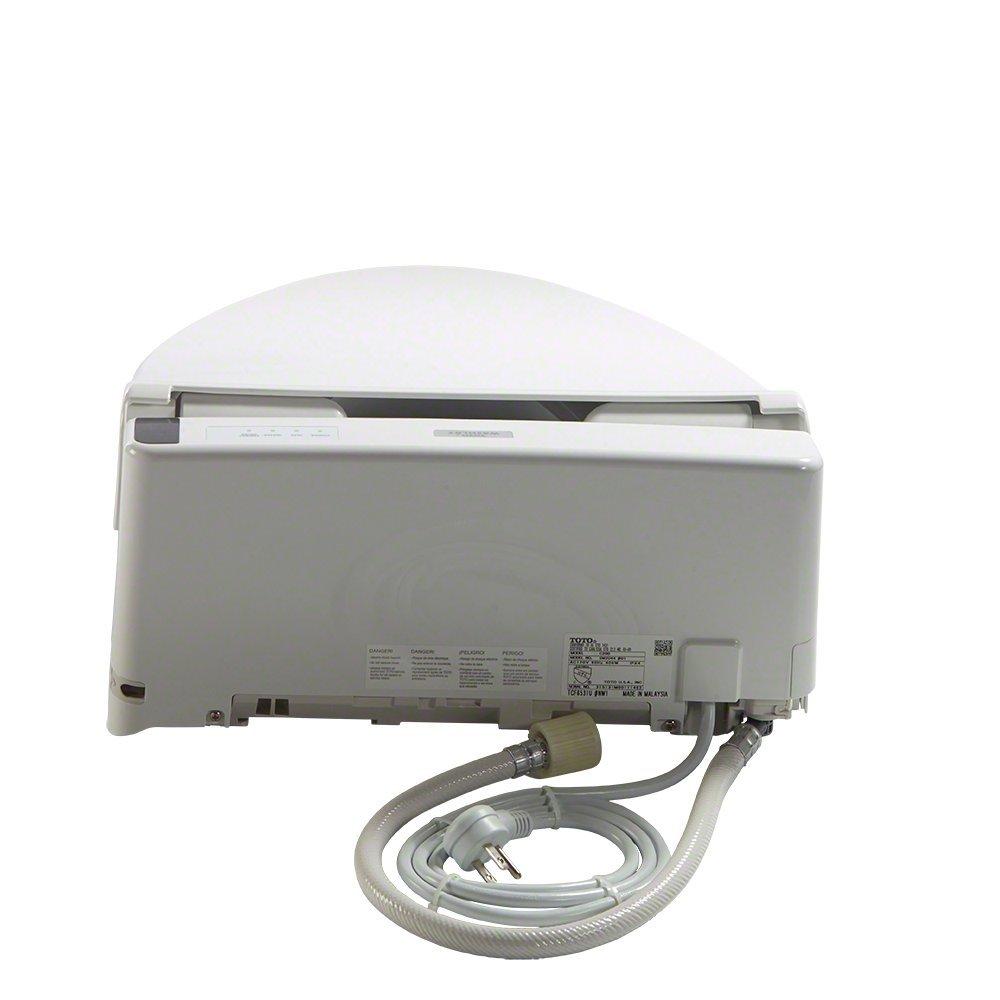 TOTO Washlet C200 Elongated Bidet Toilet Seat with PreMist, Cotton White - SW2044#01 by TOTO (Image #6)