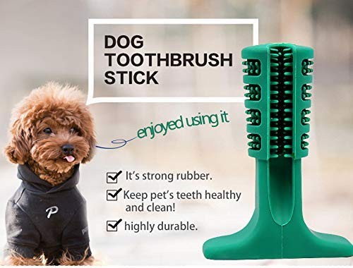 VANUODA Dog Brushing Stick,Chew Cleaning Teeth Toothbrush, Pets Oral Care, Dental Hygiene Toy for Puppy, Cats, Most Pets, Gift for Pets Lover (S) 3
