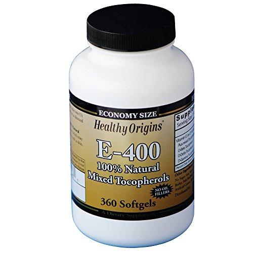 Healthy Origins Vitamin E - 400 LU Natural Mixed T…