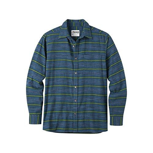 Mountain Khakis Men's Lundy Flannel Shirt - Blue Moon - X-Large (Flannel 5 Shirt Oz)