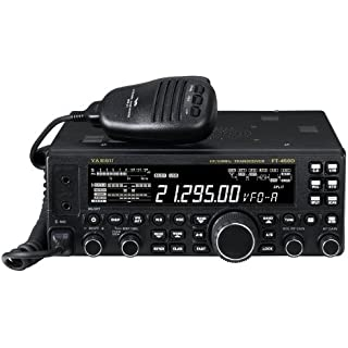 Sale Yaesu Original FT-450D HF/50MHz Compact Amateur Base Transceiver - 100 Watts IF DSP Technology
