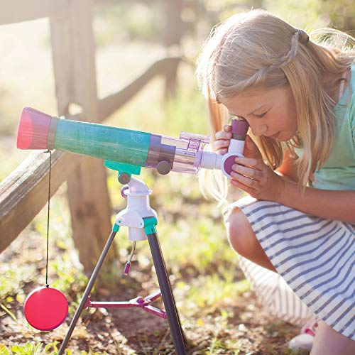 Educational Insights Nancy B's Science Club MoonScope Kids Telescope, Telescope for Kids, STEM Toy, Ages 8+