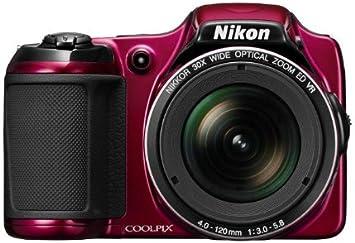 Nikon Coolpix L820 Digitalkamera 2 7 Zoll Rot Kamera