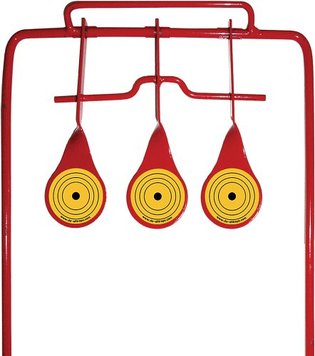 (Do-All Outdoors Triple Spinner Auto Resetting Shooting Target Rated for .17 Caliber Pellet Airgun)