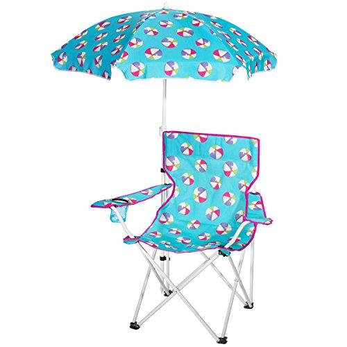 3C4G Beach Ball Design Umbrella & Chair Set by 3C4G