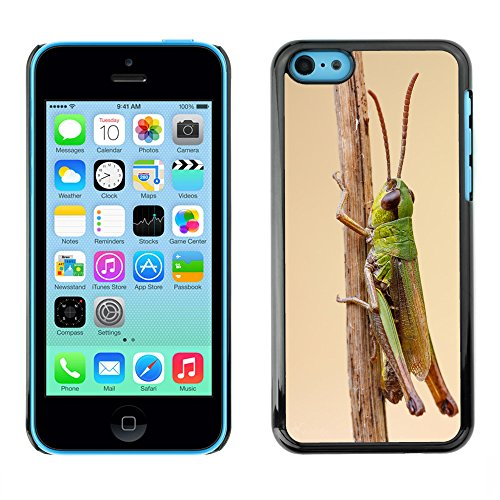 Premio Sottile Slim Cassa Custodia Case Cover Shell // F00018619 Sauterelle // Apple iPhone 5C