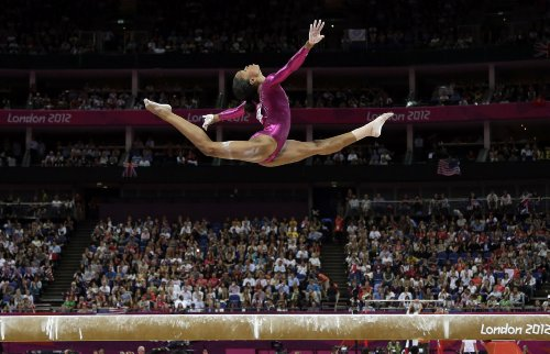 Gabby Douglas Poster 24X36 Inches Olympics Champion Gymnast High Quality Gloss Print 107