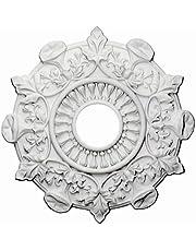 Ekena Millwork 17 1/2-Inch OD x 3 1/2-Inch ID x 1-Inch Preston Ceiling Medallion