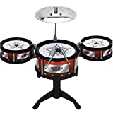 East Majik Percussion Drum Set of 3 and Sticks Children Gift