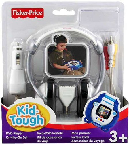 Fisher Price Kid Tough DVD Player Go