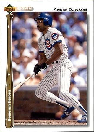 Amazoncom 1992 Upper Deck Home Run Heroes Baseball Card Hr9 Andre
