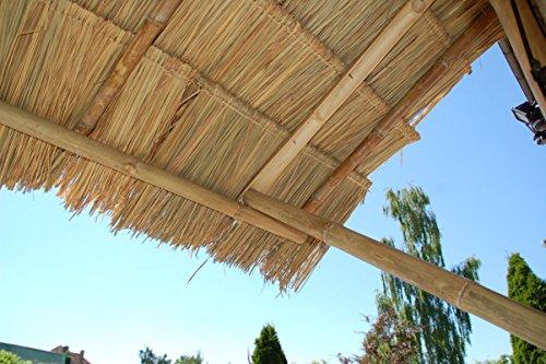 Lote de 30 panels natural para tejado de palma (115 cm) tejado ...