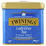 Twinings of London Lady Grey Loose Tea Tins, 3.53 Ounce (Pack of 6)