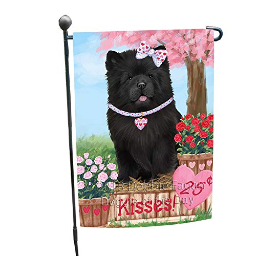 Doggie of the Day Rosie 25 Cent Kisses Chow Chow Dog Garden Flag GFLG56392 ()
