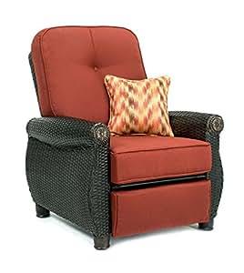 La-Z-Boy Outdoor Breckenridge Resin Wicker Patio Furniture Recliner (Brick Red)  sc 1 st  Amazon.com & Amazon.com : La-Z-Boy Outdoor Breckenridge Resin Wicker Patio ... islam-shia.org
