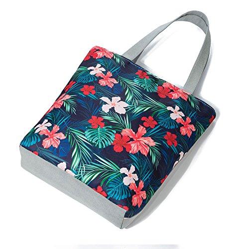 Tela Bag Casual Tote Borsa C Boemia Beach A Donna Borse a Shopping Tracolla Stampato Innerternet qnZgwX17q