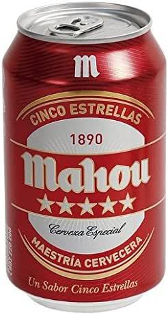 MEGAPACK Mahou 5 Estrellas 84 Latas de 33cl - Total de 27,7 Litros - Envío 24/48H Incluido: Amazon.es: Alimentación y bebidas
