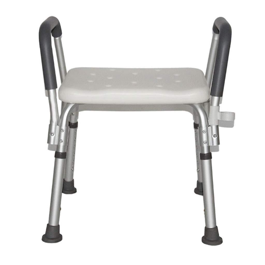【美品】 調節可能な椅子バスタブとシャワー無料サクションアシスタントシャワーアンチスリップハンドルバスタブシャワーヘッド付き B07G75VKVR B07G75VKVR, ねこねこにっと:31739b2a --- agiven.com