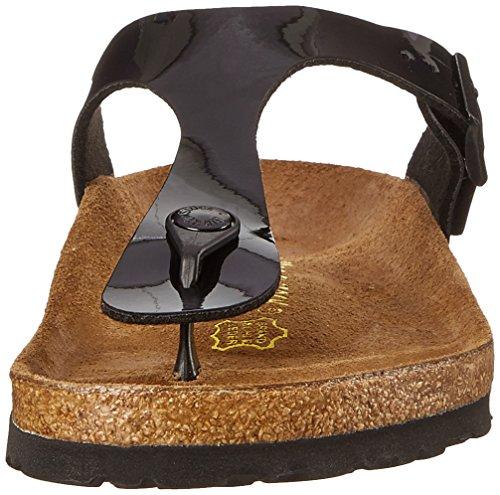 Birkenstock Women's GIzeh Thong Sandal, Black Patent, 38 M EU/7-7.5 B(M) US by Birkenstock (Image #8)
