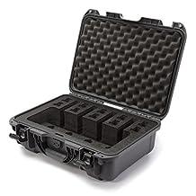 Nanuk 925 Gun Case with Foam Insert for 4 Up Pistol, Small, Olive