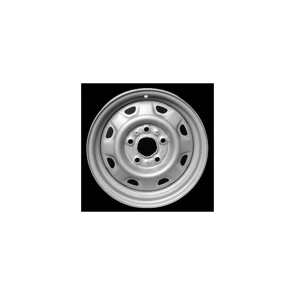 86 97 FORD AEROSTAR STEEL WHEEL VAN, Diameter 14, Width 6, Lug 5 (8 HOLE), BRIGHT SILVER, 1 Piece Only, (center cap not included) (1986 86 1987 87 1988 88 1989 89 1990 90 1991 91 1992 92 1993 93 1994
