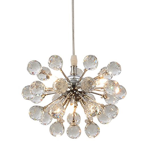 Chrome 6 Light Pendant - 9