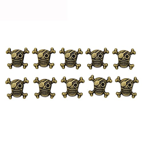 Vintage Alloy Copper Color adjustable plated Braiding DIY Accessory Dread lock Hair Beads Hair Braid Pins Rings Cuff Clips Tibetan Jewelry Decor (Alloy Lock Ring)
