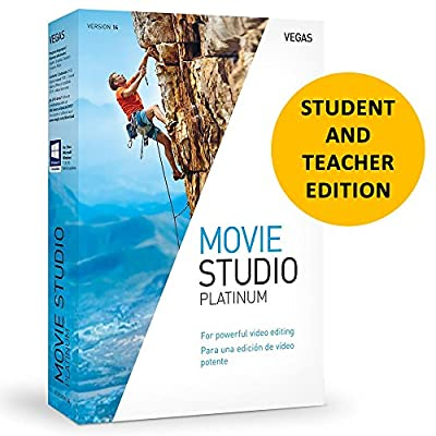 Magix Vegas Movie Studio 15 Platinum for Students & Teachers