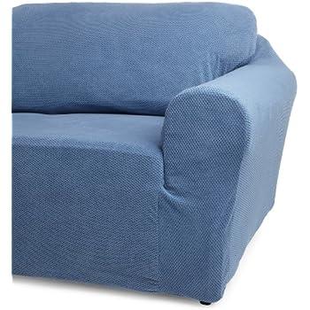 Amazon Com Classic Slipcovers 78 96 Inch Sofa Cover Blue