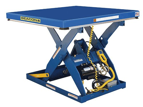 Beacon-BEHLT-Series-Scissor-Lift-Table-Vertical-Travel-71-Platform-Width-48-72-Platform-Length-120-144-Capacity-LBS-5000-Raised-Height-82-Lowered-Height-11-Travel-Time-Sec-26-Model-BEHLT-4872120144-50