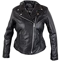 Xelement B8005 Ladies Classic Cruiser Leather Braided...