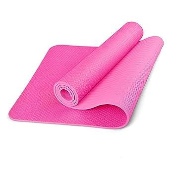 HEXIAOPENG - Esterilla de Yoga de 8 mm de Grosor, con ...