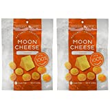Moon Cheese 2 OZ, Pack of Two, Cheddar, 100% Cheese and Gluten Free